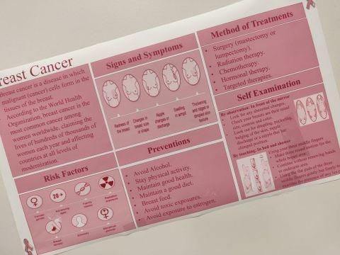 دورة إسعافات أولية وندوة للتوعية بسرطان الثدي