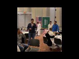 قصيدة المبتعث الشاعر عبدالهادي بن معدي القحطاني في حفل اليوم الوطني 89 بجامعة ديلاوير في أمريكا 2019